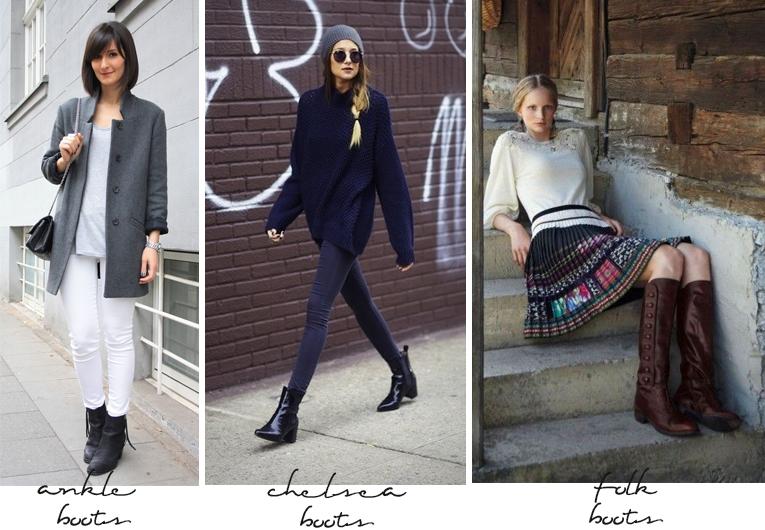 tendências em botas para o inverno 2014 folk boots ankle boots e chelsea boots