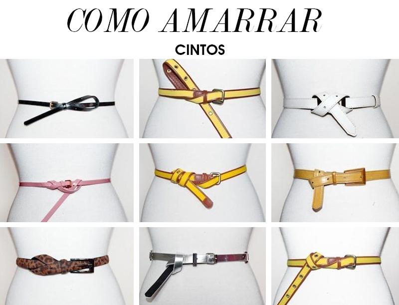 9 formas de amarrar cintos e como usar dicas de moda e estilo por Deisi Remus