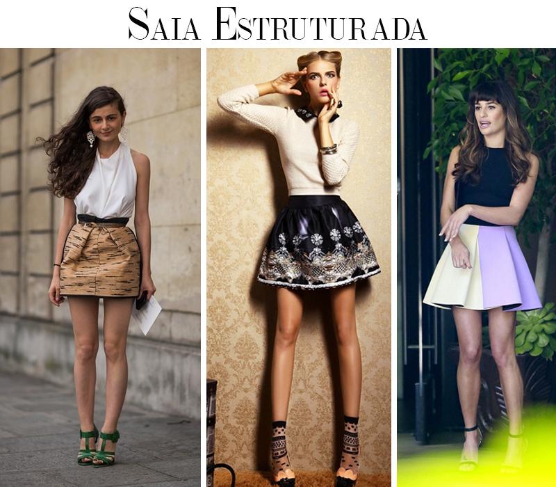 Como usar saia estruturada dicas de moda e tendência