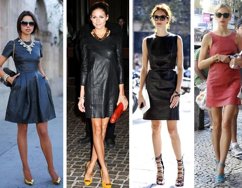Como usar vestido de couro sem parecer vulgar dicas de moda e estilo por Deisi Remus