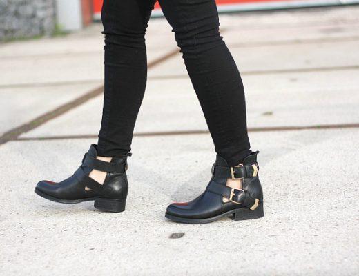 cut open boots