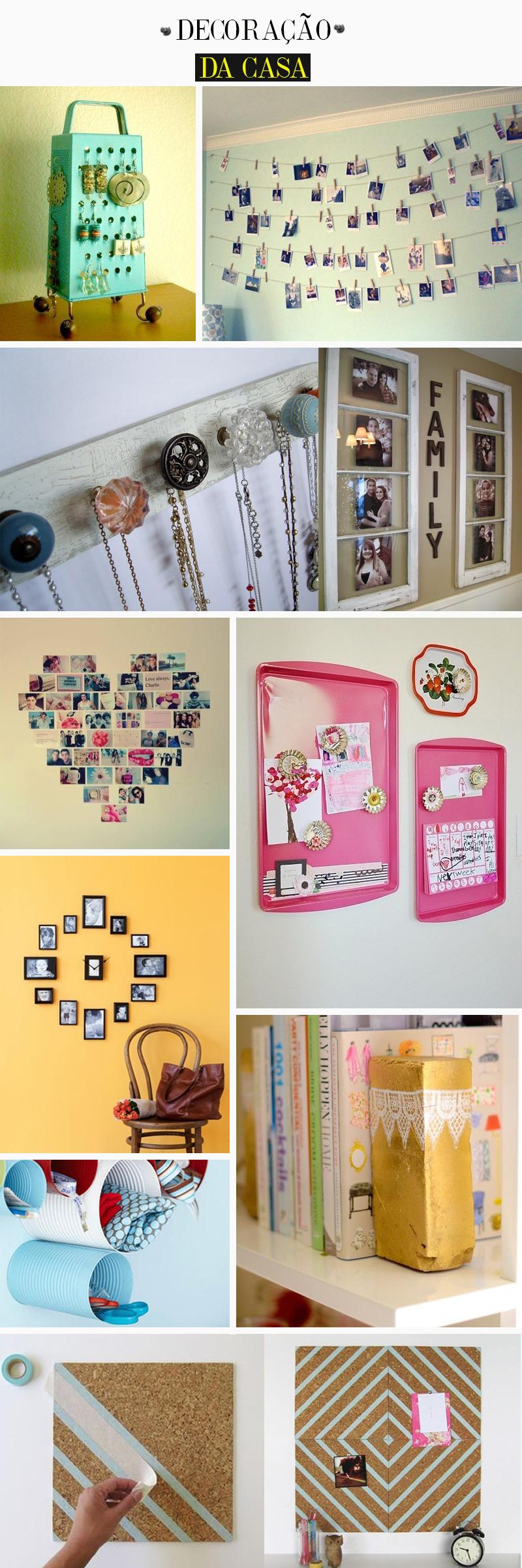 diy decoração da casa fácil com reaproveitamento de material
