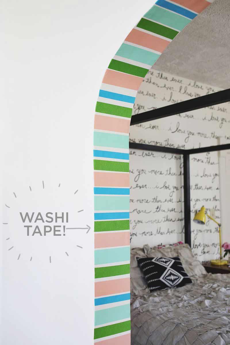 parede-co-washi-tape-colorido