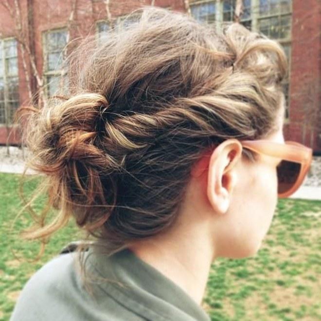 penteados de cabelo fáceis de fazer