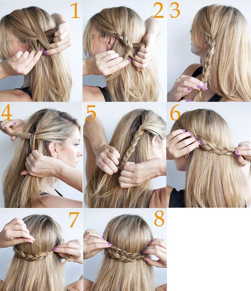 penteados de cabelos para cabelo longo