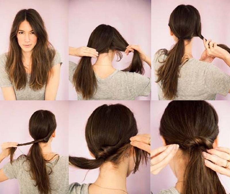 penteados de cabelos para quem esta com preguiça (2)