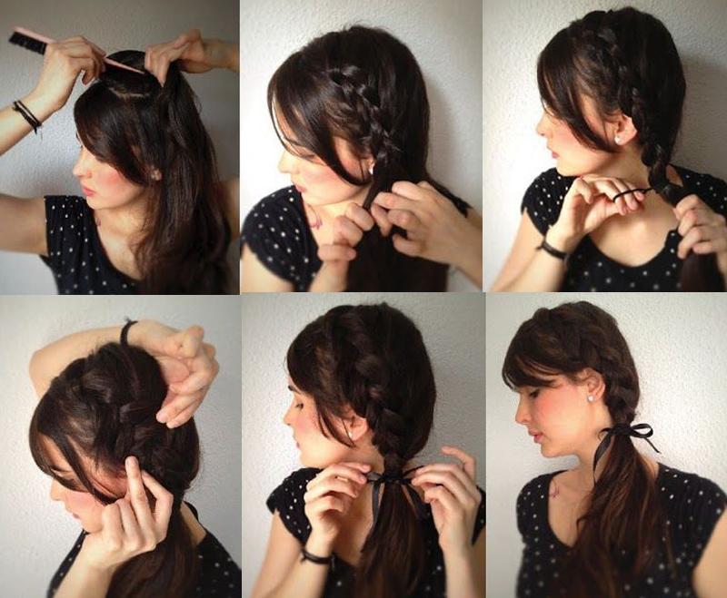 penteados de cabelos românticos