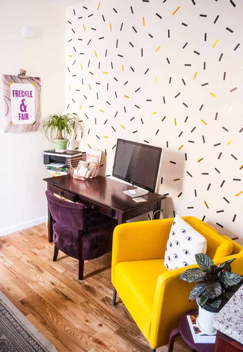 sala-decorada-com-washi-tape