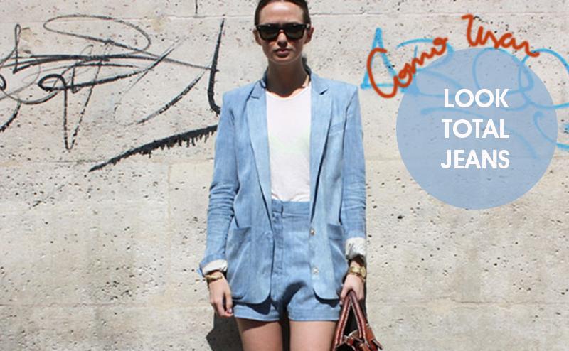 Como usar look total jeans - Dicas de moda e estilo por Deisi Remus