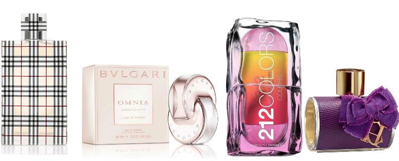 Embalagens mais bonitas de perfumes