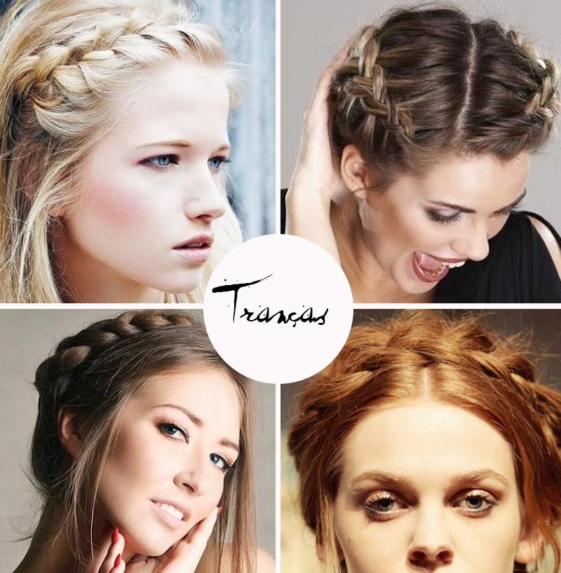 Tranças nos cabelos