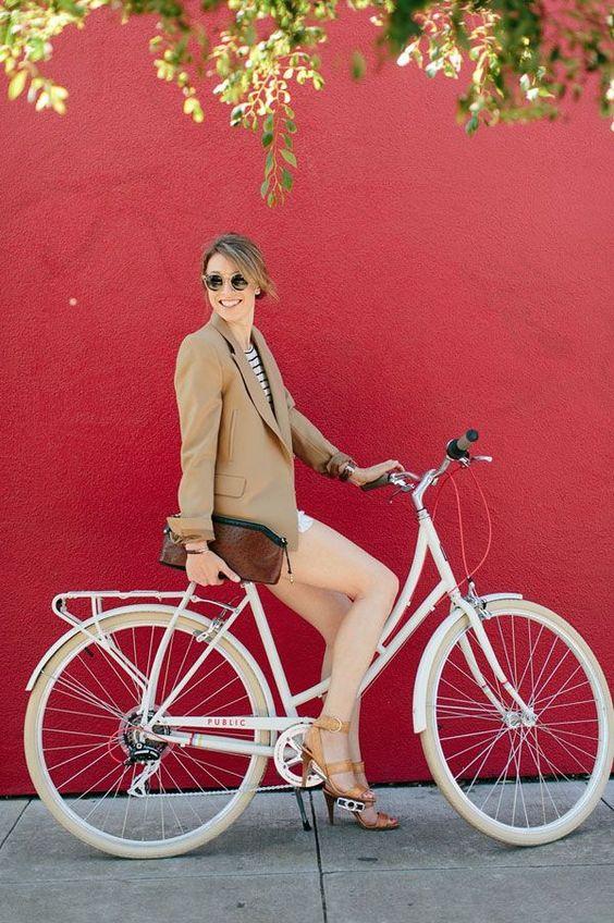 look social para andar de bicicleta