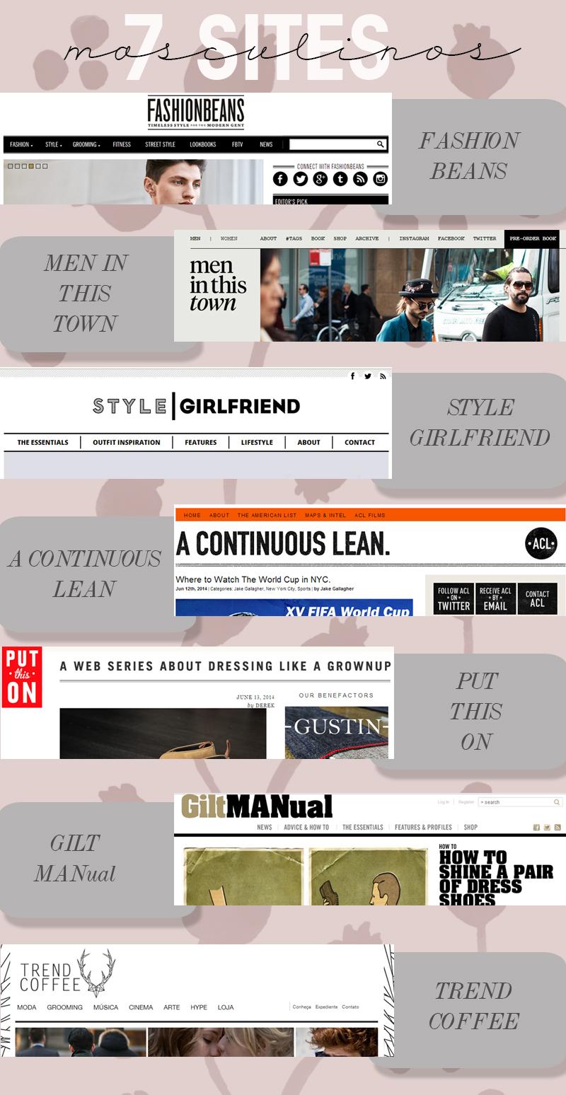 sites de moda para homens