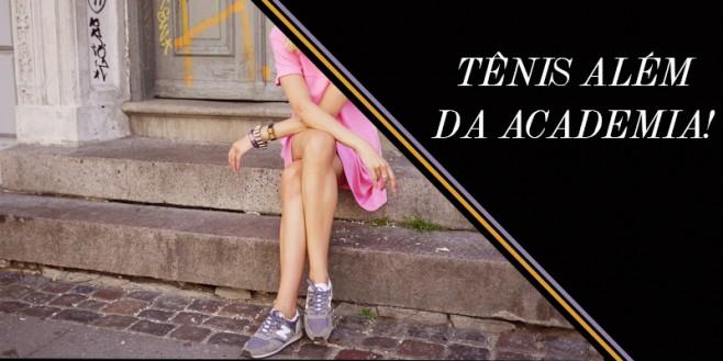 Como usar tênis com saias, vestidos e calças