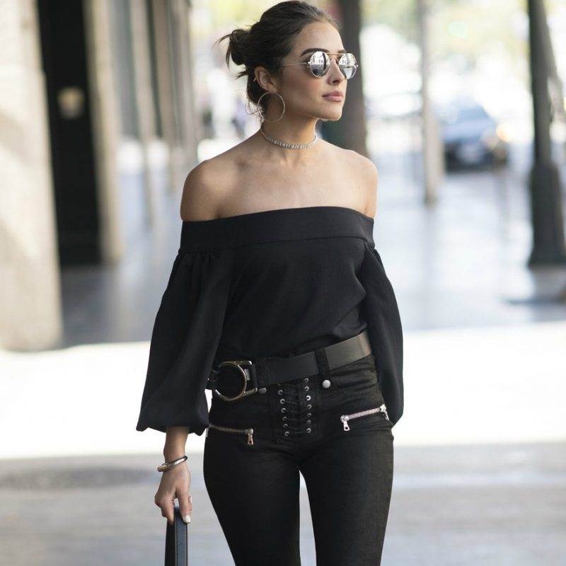 all black look todo preto