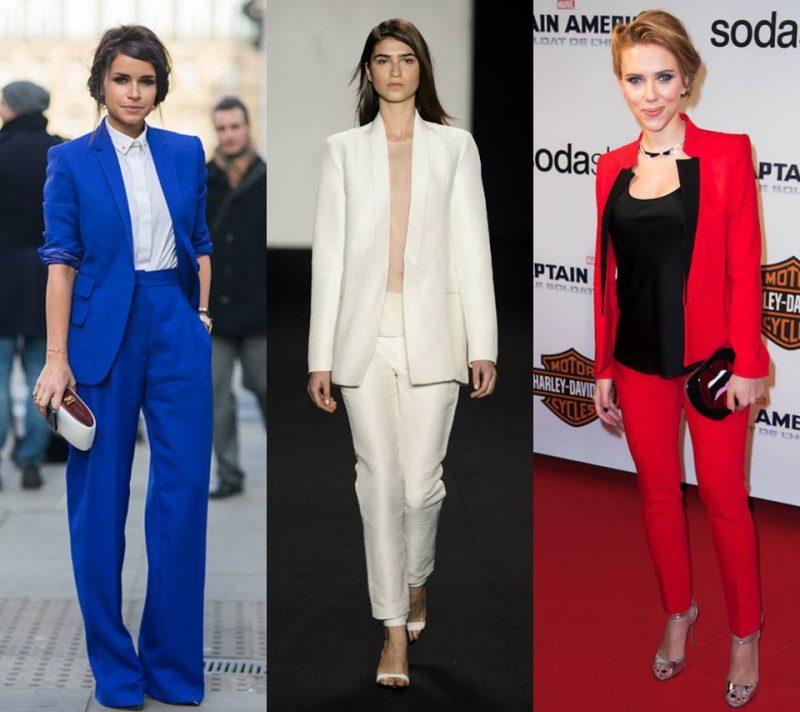 moda festa opções de trajes com ternos elegantes