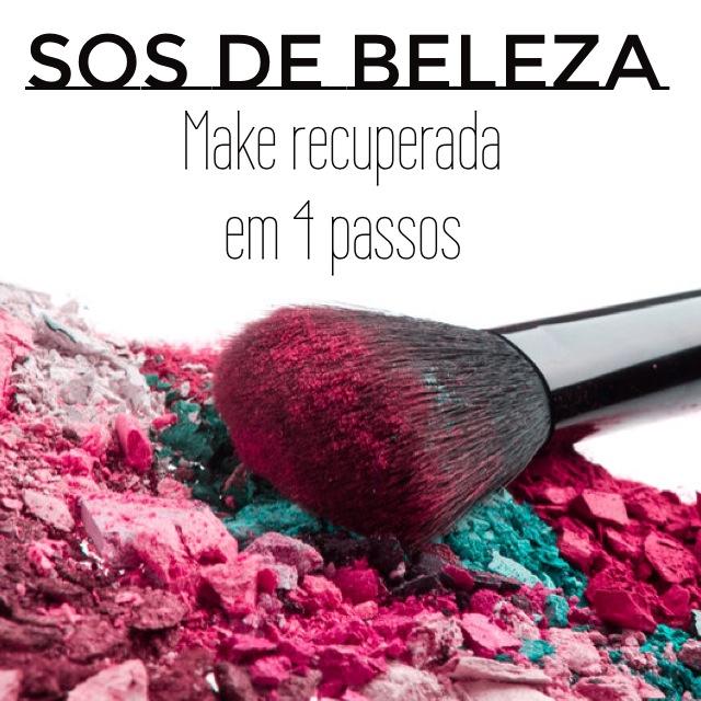 SOS DE BELEZA como recuperar maquiagem quebrada