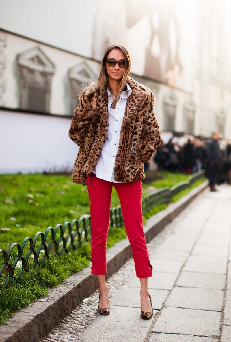 vermelho e onça como usar