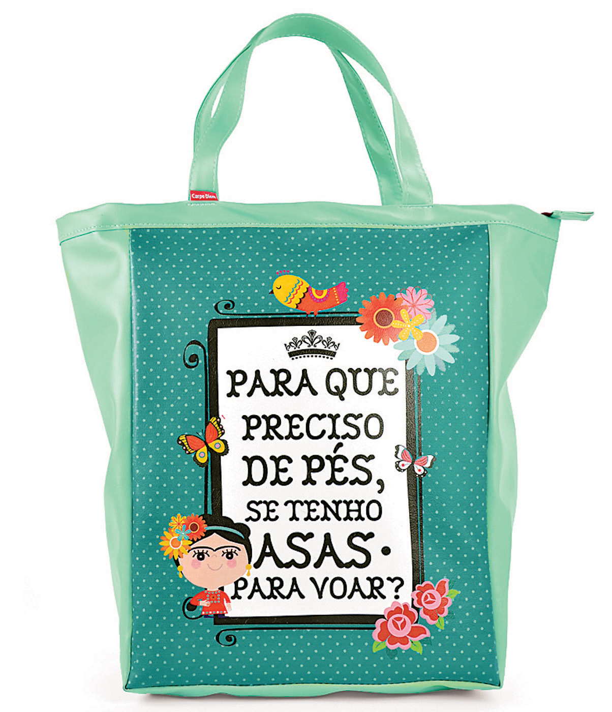 book bag Frida Kahlo da Poeme-se - R$ 89,00