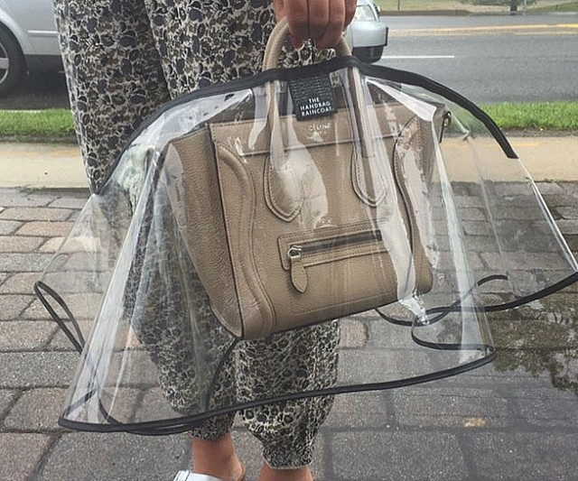 capa de chuva para bolsa