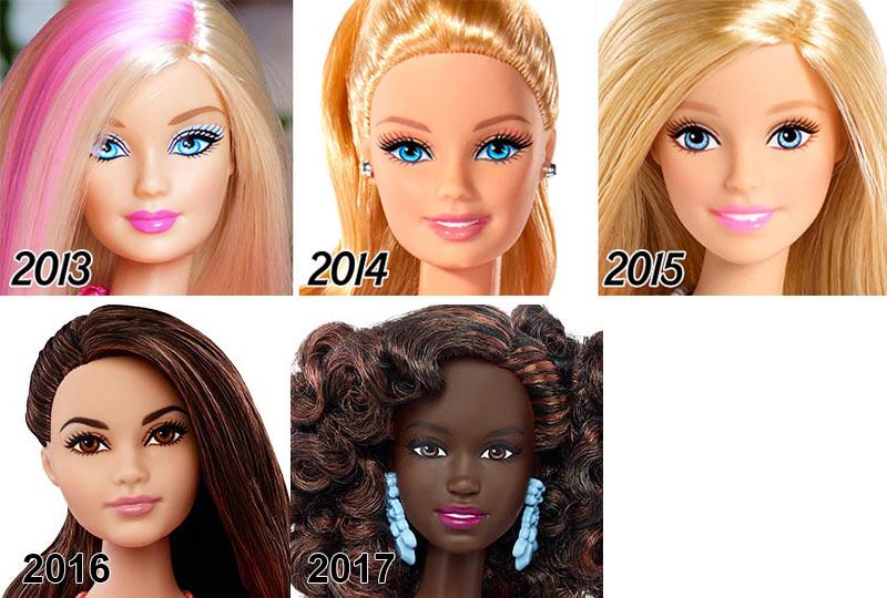 evolução-da-boneca-barbie