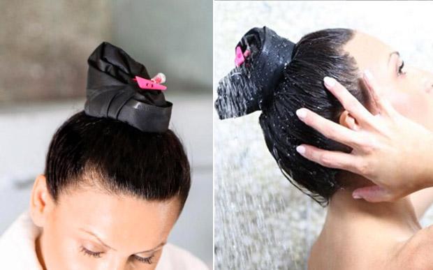pony-dry acessório para lavar só a raiz dos cabelos