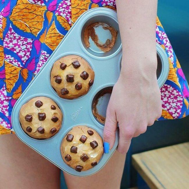 bolsa divertida em formato de forma de cupcake