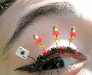 cilios divertidos para o carnaval