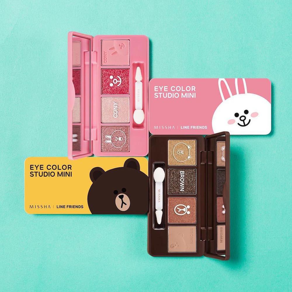 coleção de maquiagem Line-Missha 5