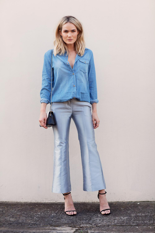 Cropped flare: Veja como usar a nova tendência em calça ...