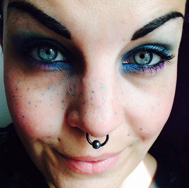 Rainbow-Freckles14 sardas coloridas