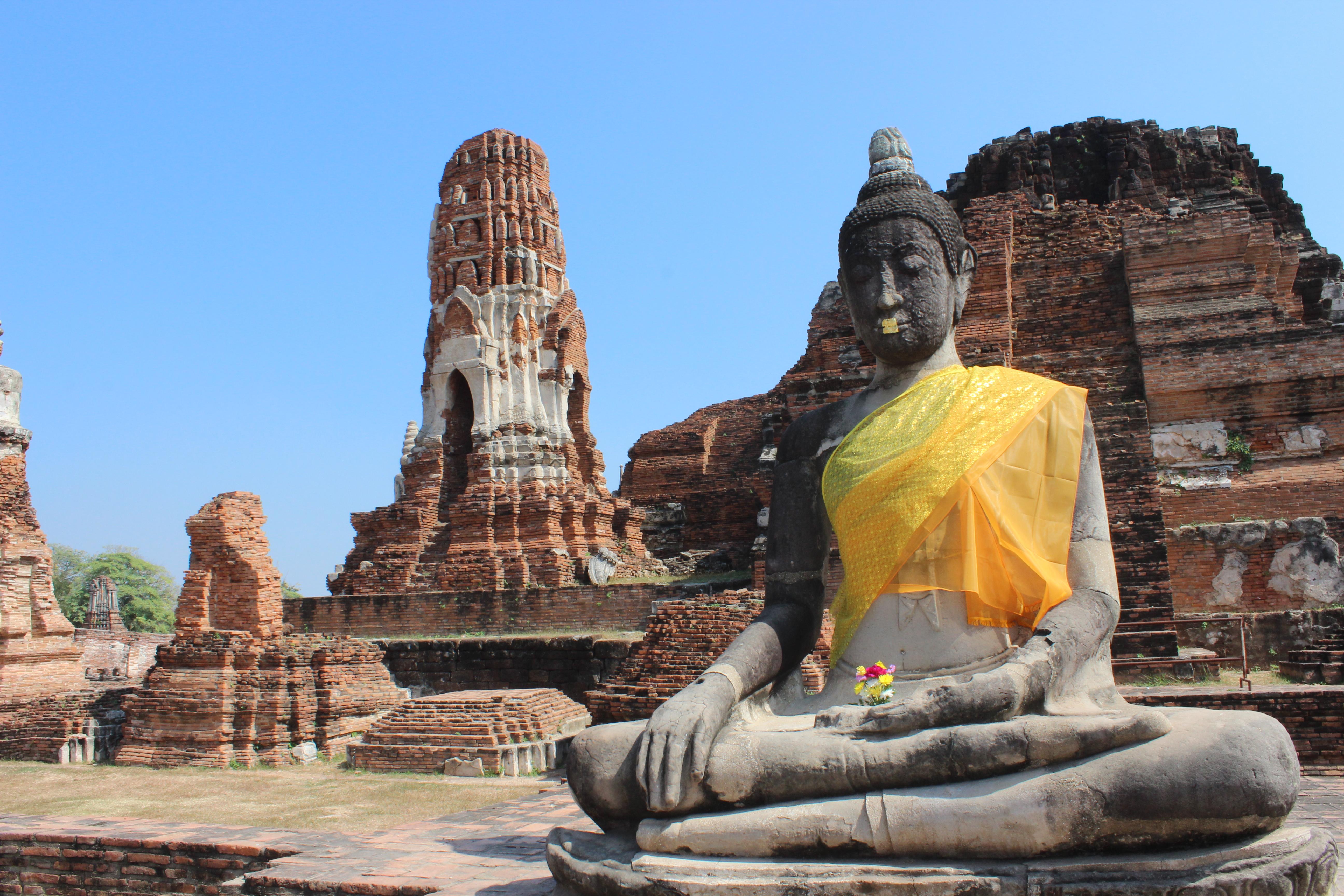 Templo Ayutthaya o que vestir para visitar