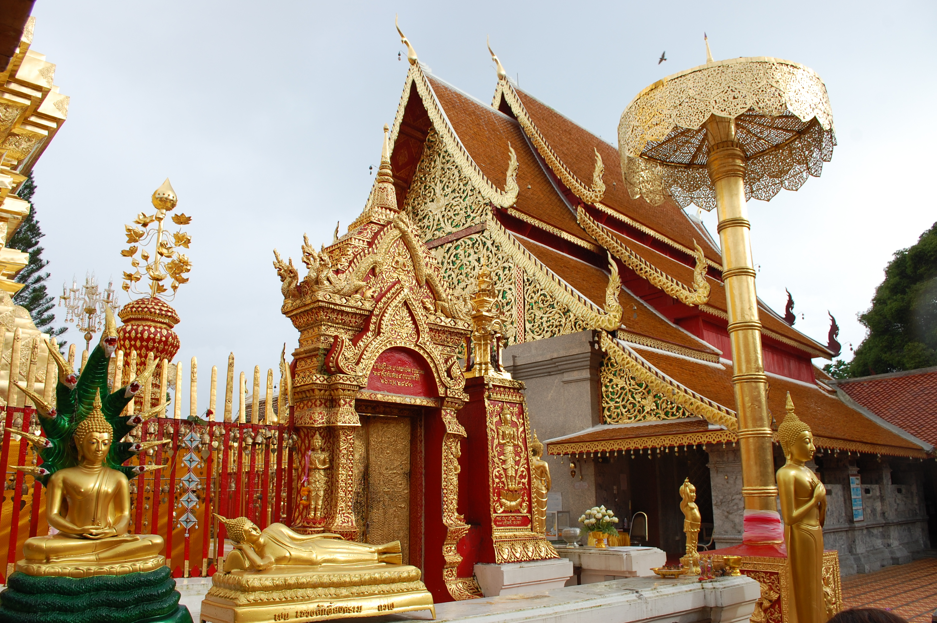 Templo Chiang Mai na Tailândia o que vestir para visitar