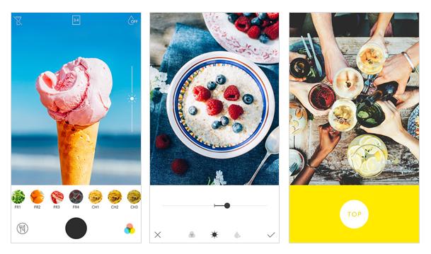 app foodie para fotos de comida