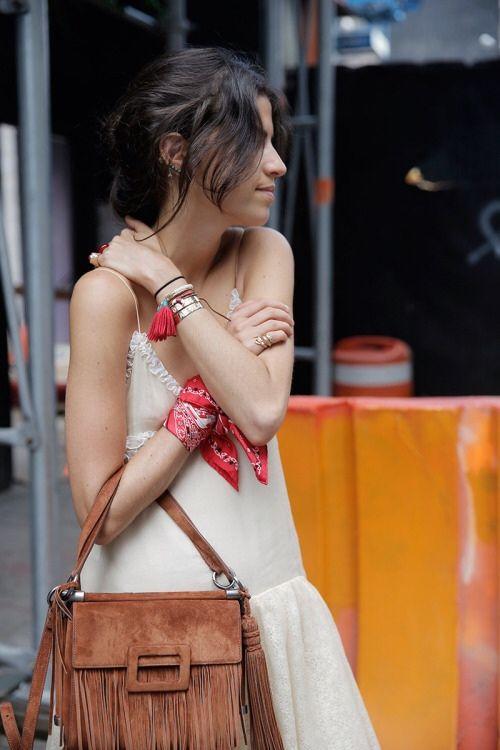 como usar bandana como pulseira