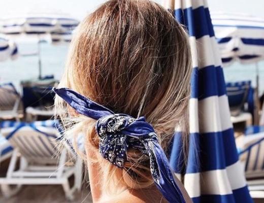 como usar bandana nos cabelos
