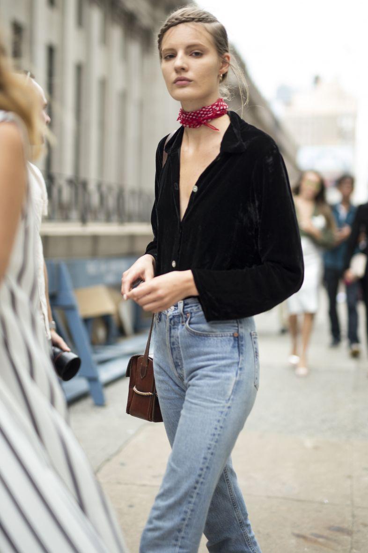 como usar jeans rígido wedgie 5