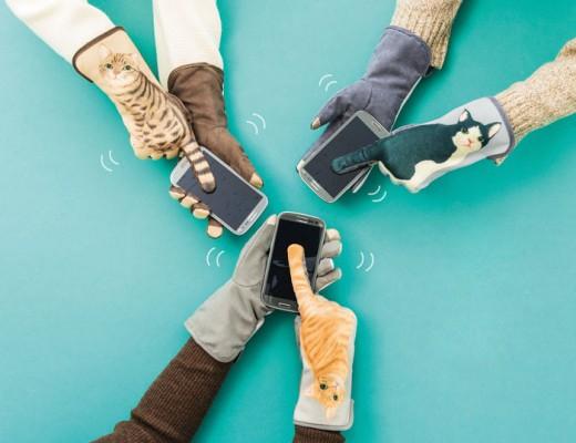 luvas de frio para escrever no celular