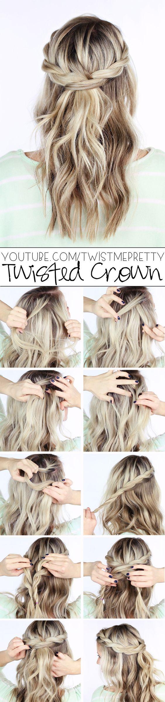 penteado para usar na escola
