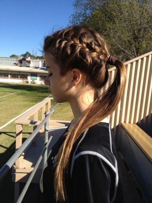 penteado para volta as aulas na escola