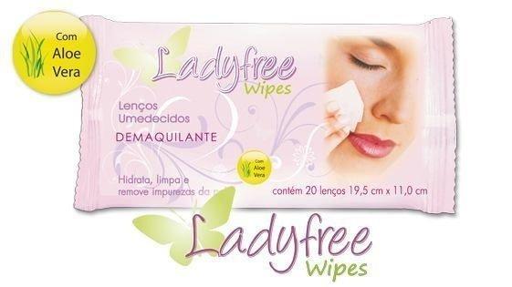 Lenço demaquilante LadyFree
