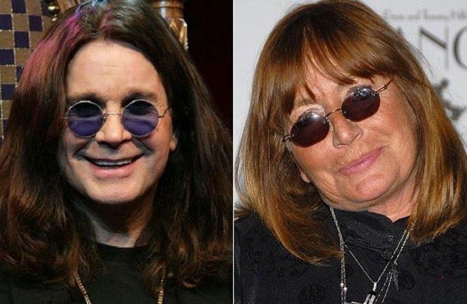 Ozzy Osbourne e Penny Marshall