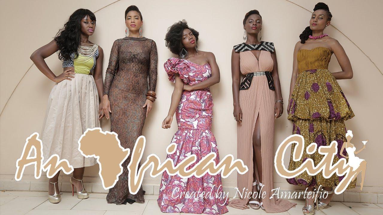 an african city série