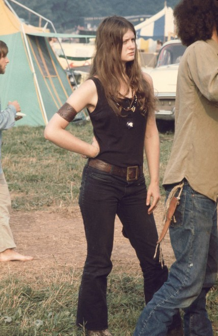 as mulheres do festival woodstock 17