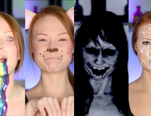 maquiagem inspirada nos filtros do snapchat
