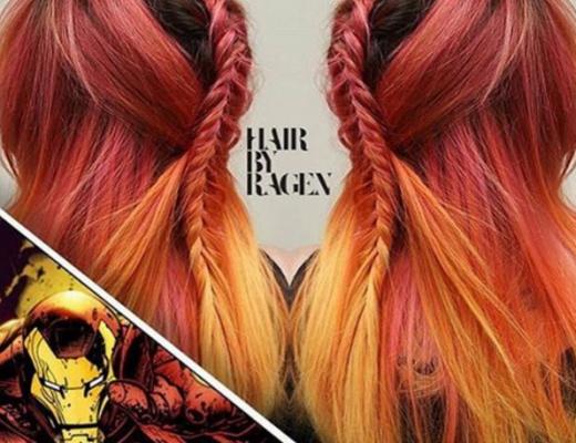 penteados de cabelos inspirados em super heróis e vilões 11