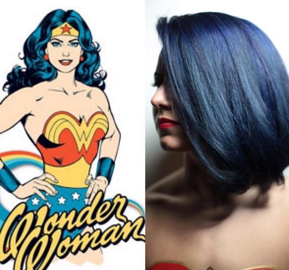 penteados de cabelos inspirados em super heróis e vilões 13
