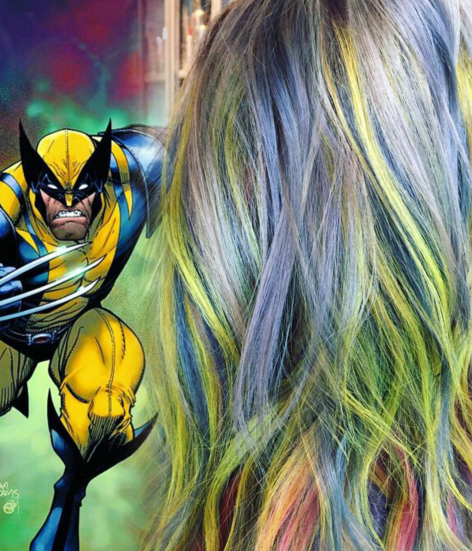 penteados de cabelos inspirados em super heróis e vilões 15