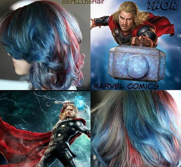 penteados de cabelos inspirados em super heróis e vilões 4