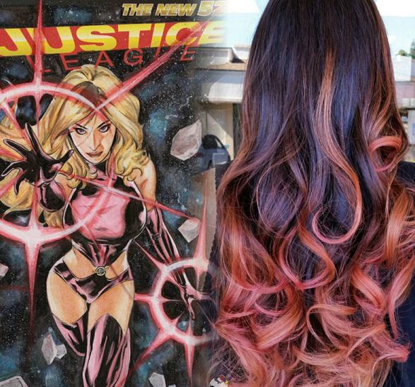 penteados de cabelos inspirados em super heróis e vilões 6